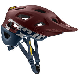 Mavic Crossmax Pro Helmet Red Dalhia/Poseidon
